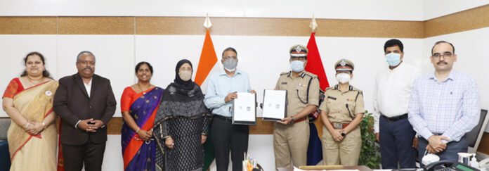 Anurag University and Telangana Police ink MoU for Bilateral Cooperation in Cyber Security and related areas
