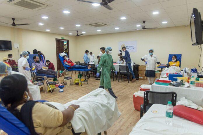 Burhani College Organises Blood Donation Camp